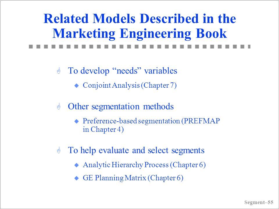 marketing management chapter 6 summary Chapter in marketing management: essential marketing knowledge and practice rajiv grover and naresh k malhotra 6 product.