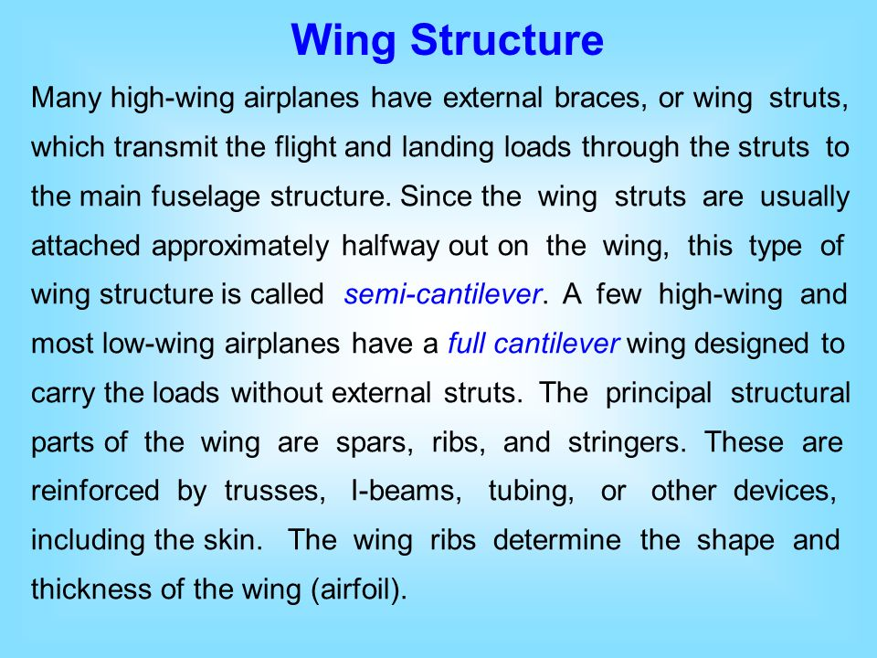 principal structural units of the airplane Traction – the force per unit area surface stress – a pair of opposite but equal tractions acting on a surface of  • a principal plane is any plane in which .