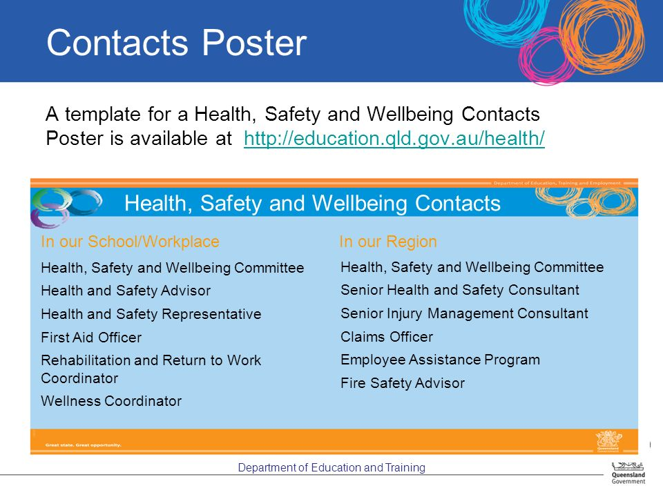 health safety and wellbeing induction ppt download