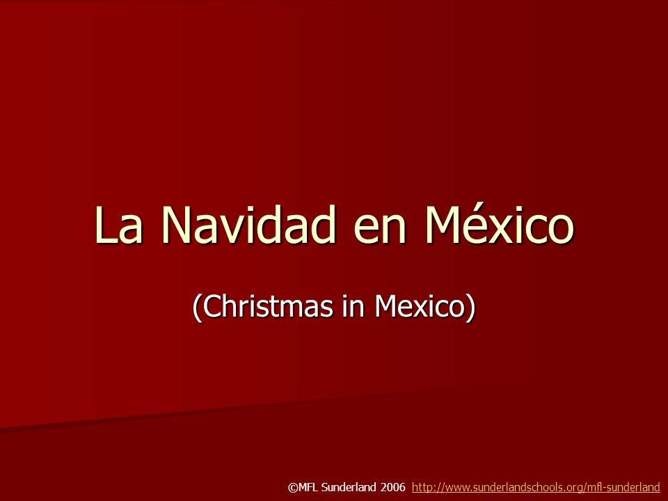 La Navidad en México (Christmas in Mexico)