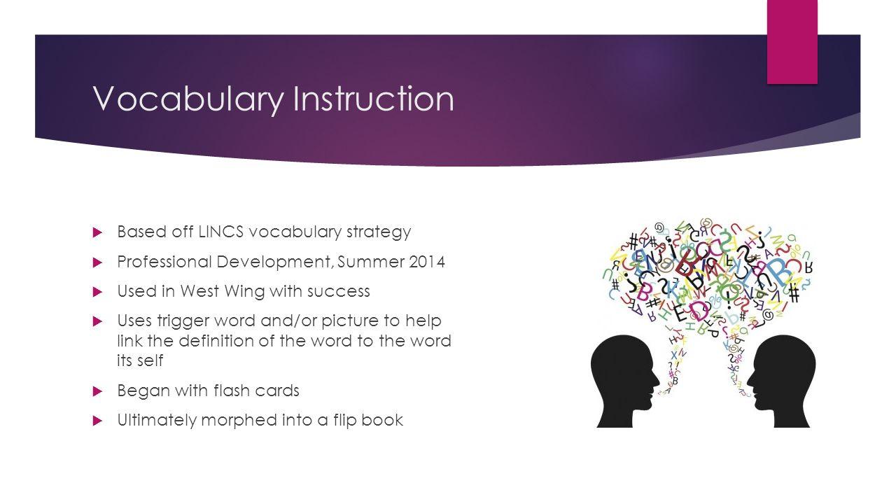 vocabulary strategies for high school pdf