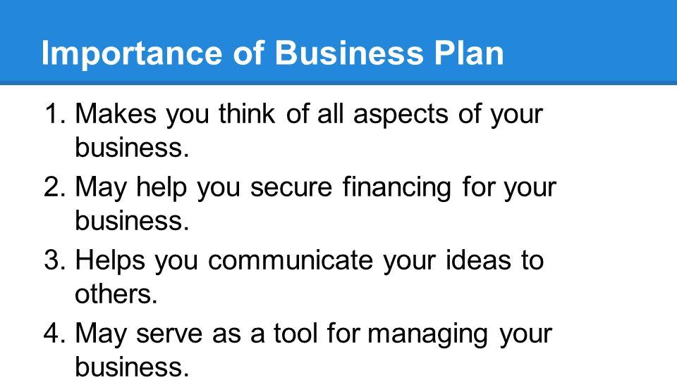 Develop a Business Plan - ppt download