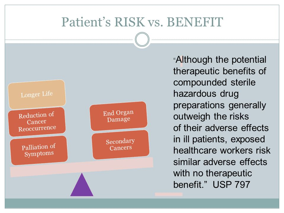 patient risk The patient safety center contains free resources to help all healthcare providers improve the quality and safety of the care they patient safety and risk programs.