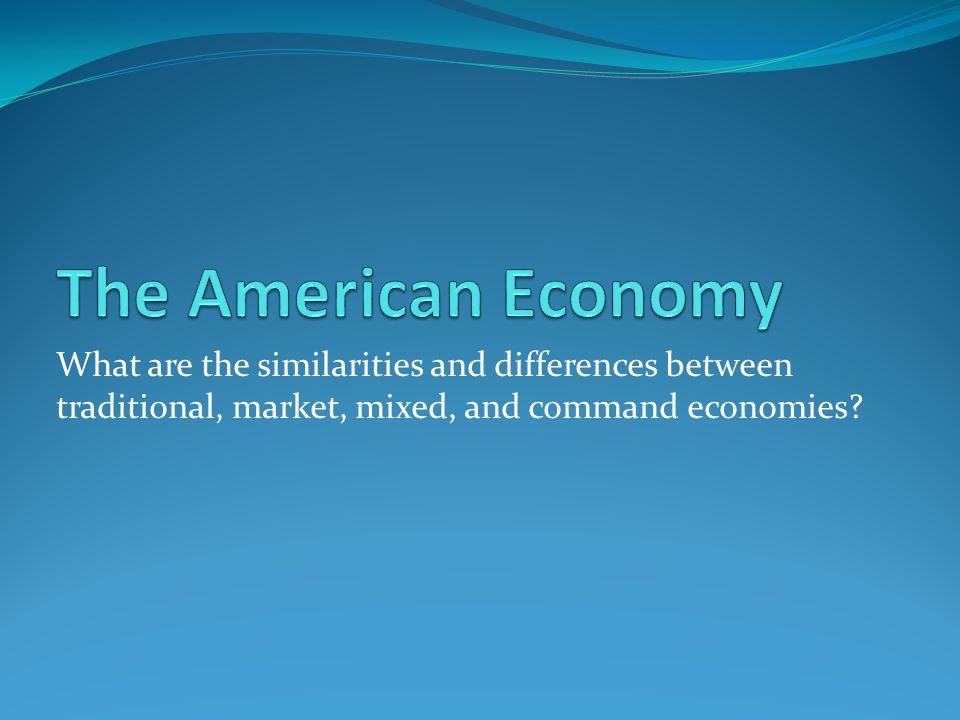 Command economy vs market economy essay