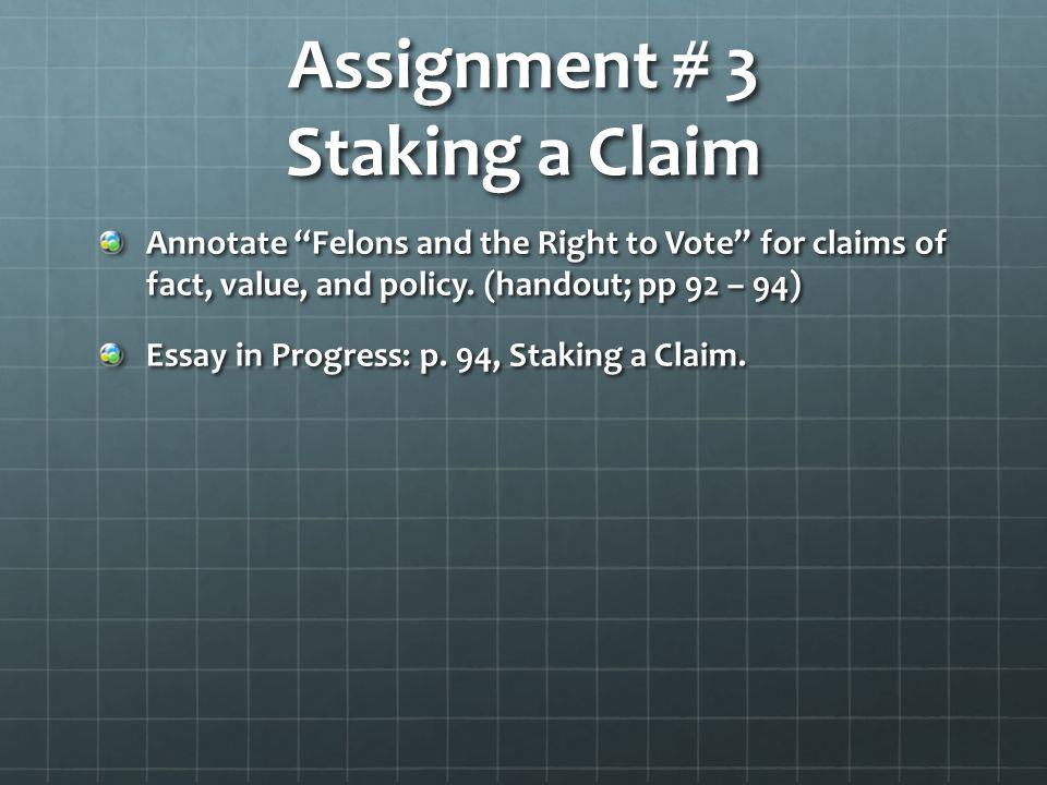 language of composition chapter analyzing arguments ppt video assignment 3 staking a claim