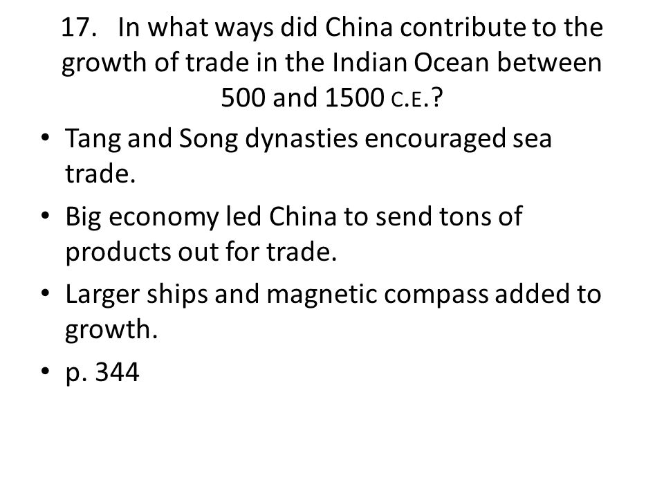 how did trade and commerce contribute The rise of commerce and towns  but the traders were now driving cattle and horses west to trade for manufactured goods this trade would prove to be an important .