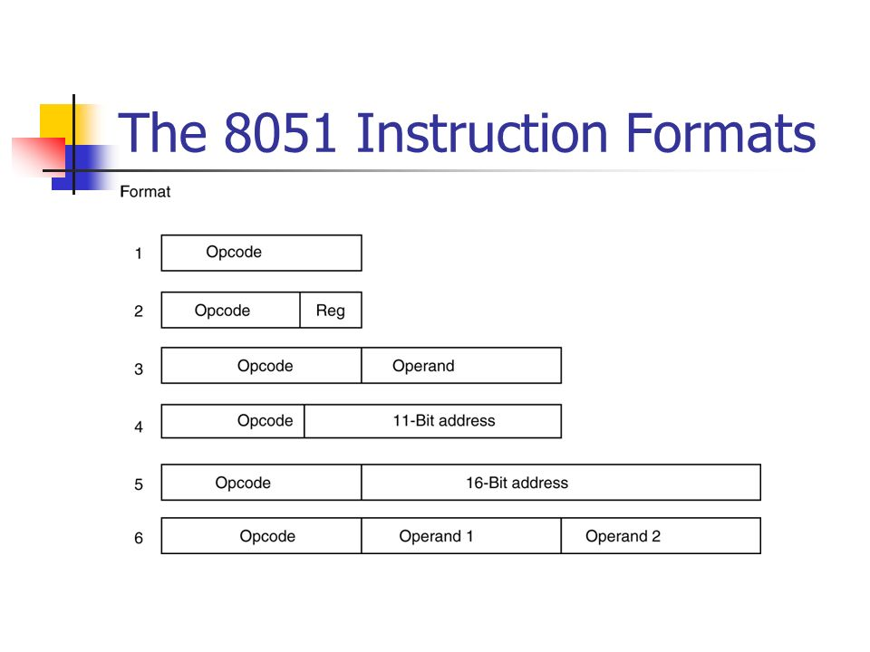Instruction Format Keninamas