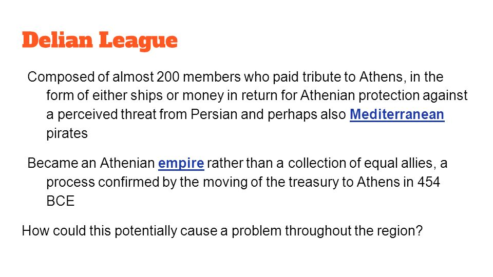 the rise of athens in the delian league The delian league: how athens transformed a defensive alliance into a tool for imperial expansion  athens had just been sacked.