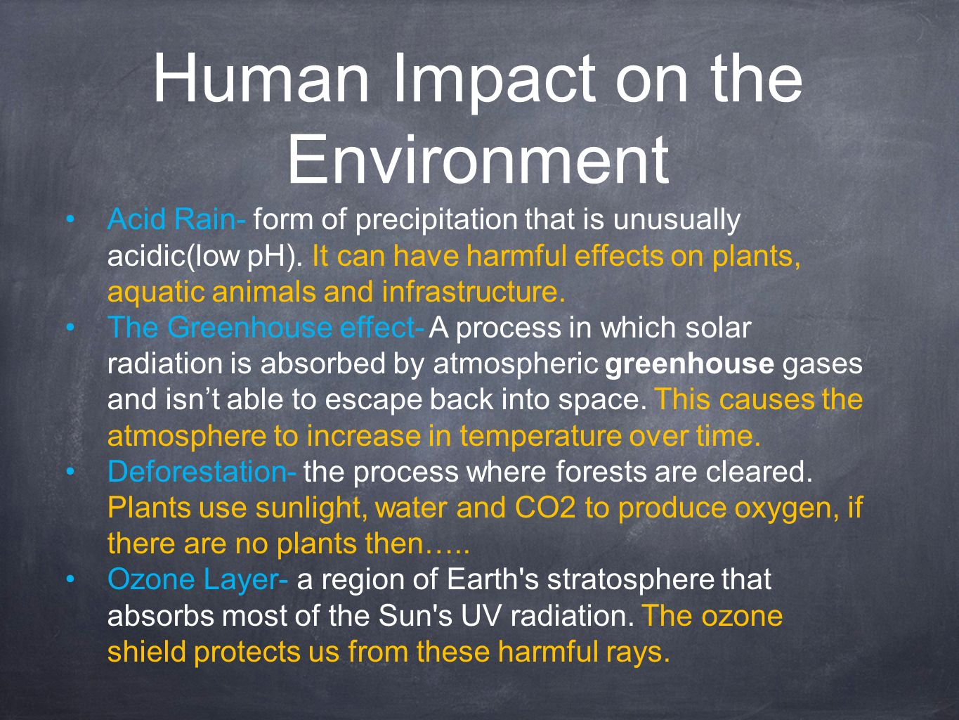 humans impact Humans live in the taiga and they have a huge impact on it since there are so many trees, humans cut the trees down to use and build homes logging in the forests is causing giant amounts of deforestation.