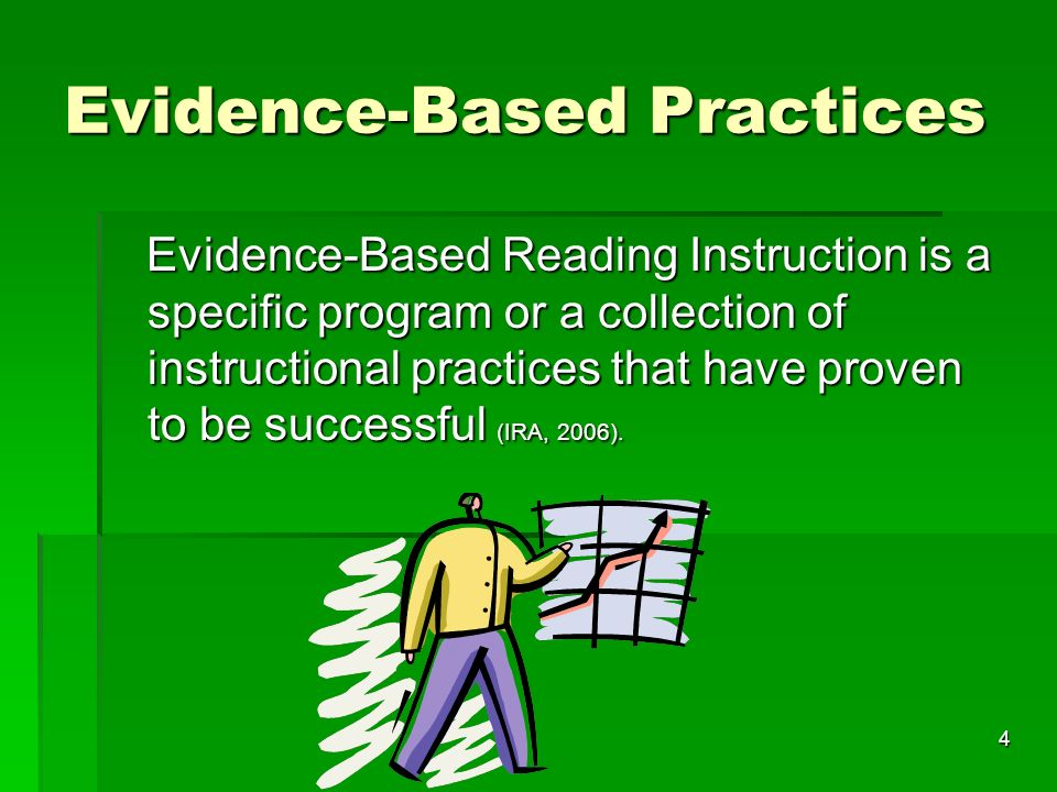 discuss how evidence based practice is applied Wondering about the heightened interest in the practice of evidence-based  of  evidence-based medicine include the 5 a's: ask, acquire, appraise, apply,   explain the knowledge types in each layer of the evidence-based medicine  pyramid:.