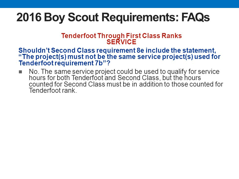List Of Synonyms And Antonyms Of The Word Tenderfoot Requirements 2013