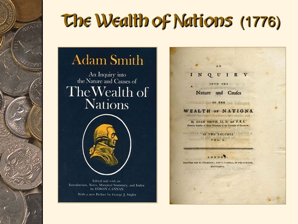 """an analysis of capitalism in wealth of nations by adam smith Adam smith is renowned as the father of father of capitalism,"""" discusses charity states smith in """"the wealth of nations adam smith creates."""