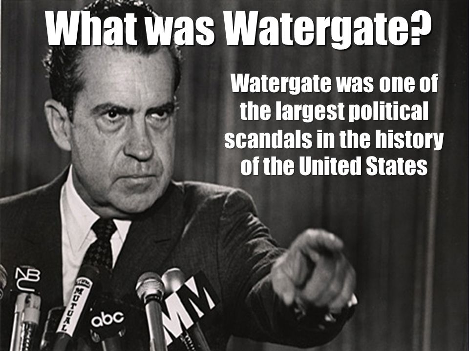 a history of the watergate scandal and the people involved in the affairs Which is why the scandal became a staple to history watergate was a was involved in the watergate crime of governmental affairs and.