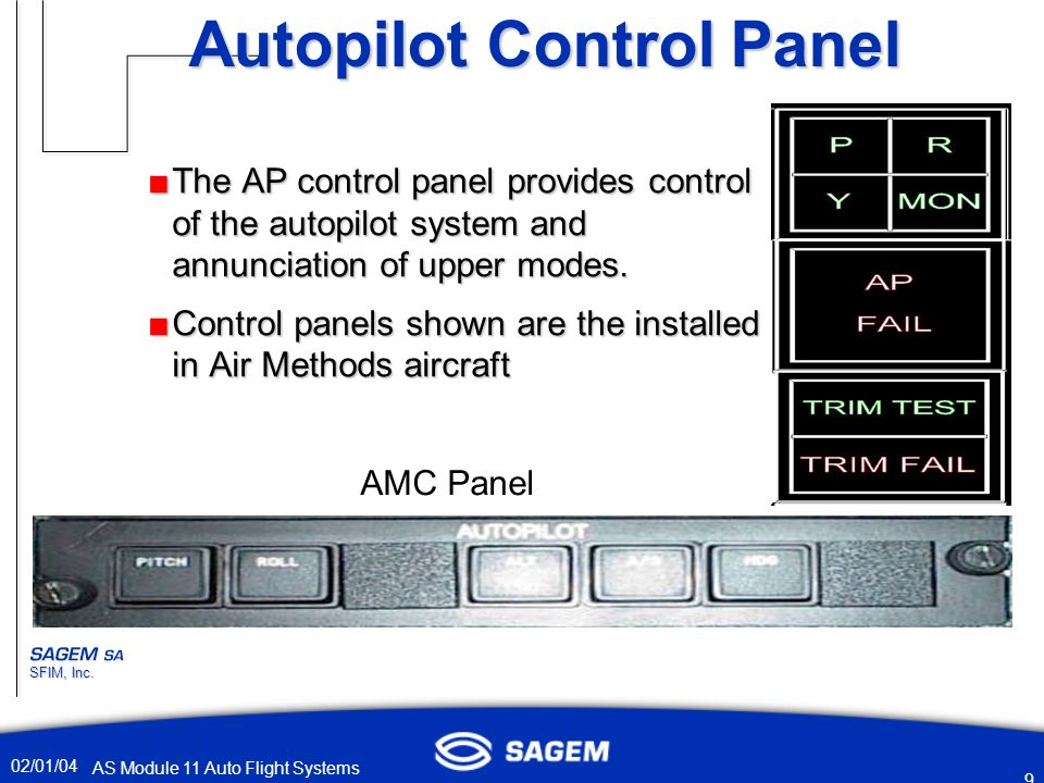 autopilot system in aircraft pdf