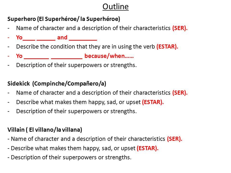 characteristics of a superhero