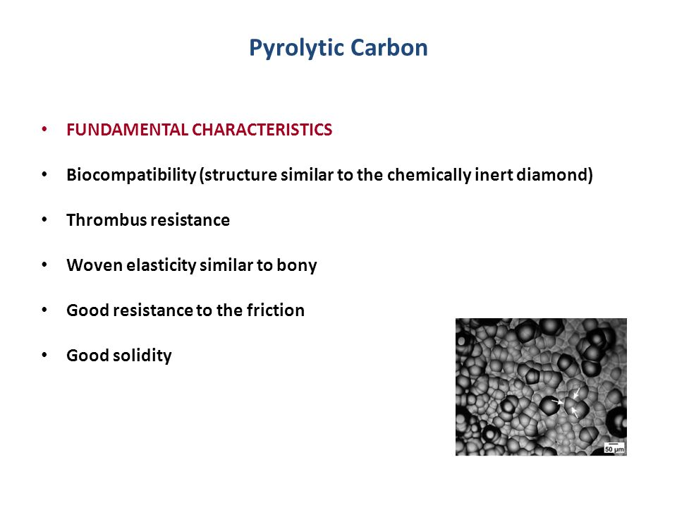 Pyrolytic Carbon FUNDAMENTAL CHARACTERISTICS
