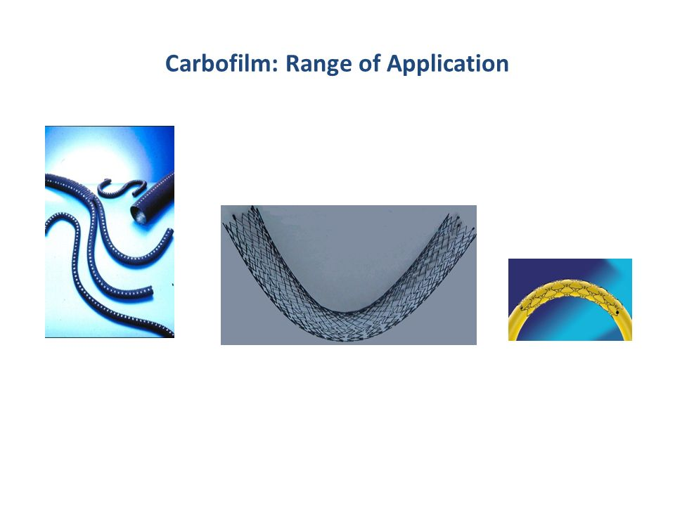 Carbofilm: Range of Application
