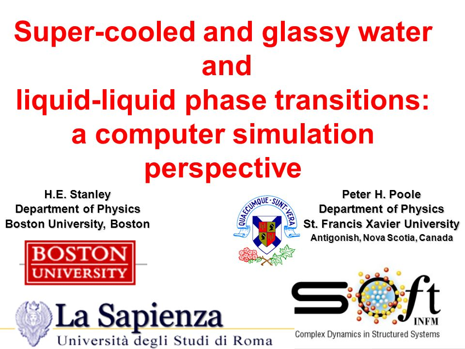 Super-cooled and glassy water and liquid-liquid phase transitions: a computer simulation perspective