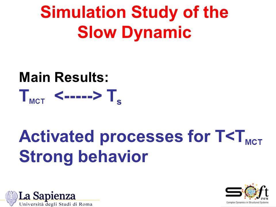 Simulation Study of the