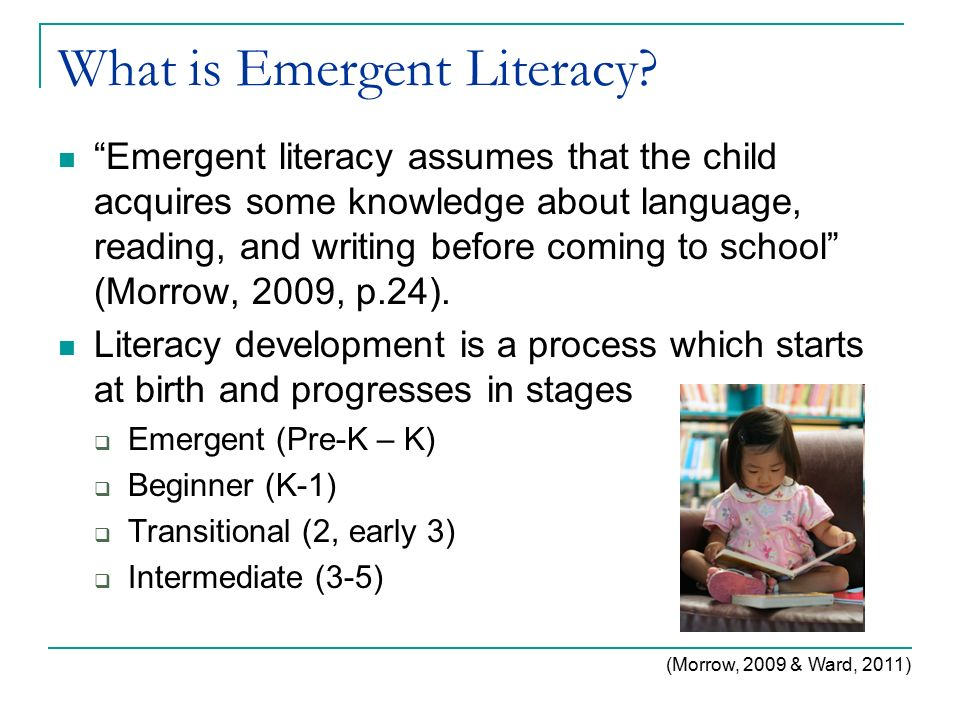 What Is Emergent Literacy