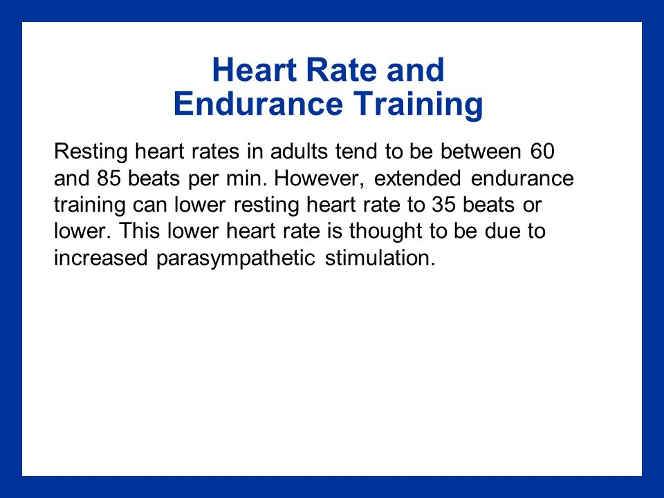 Shall afford Resting heart rate adults