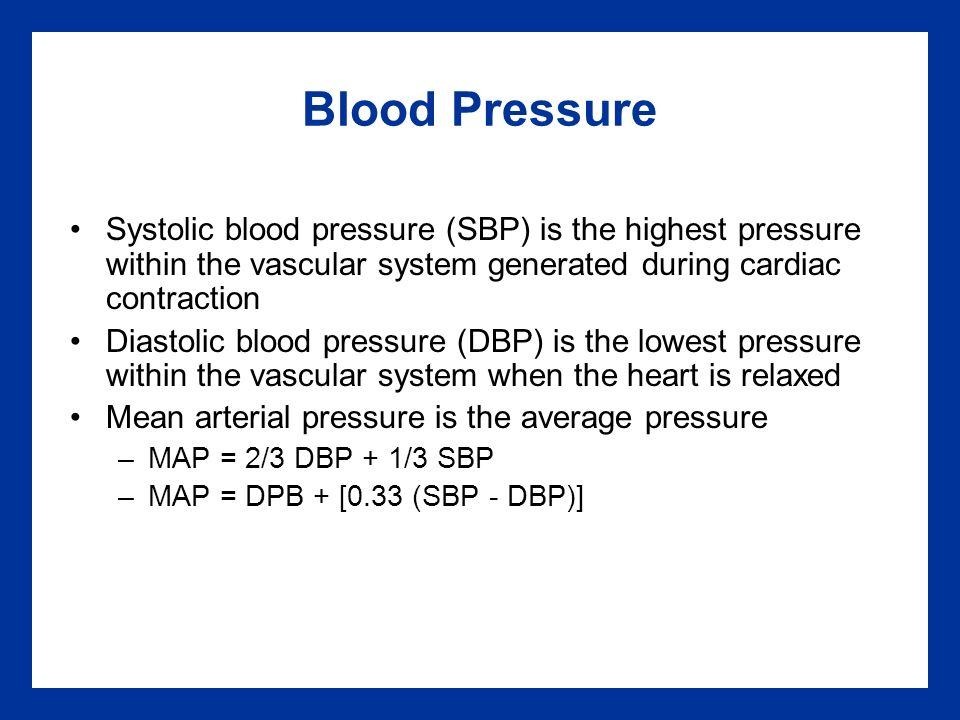 mean arterial pressure calculation pdf