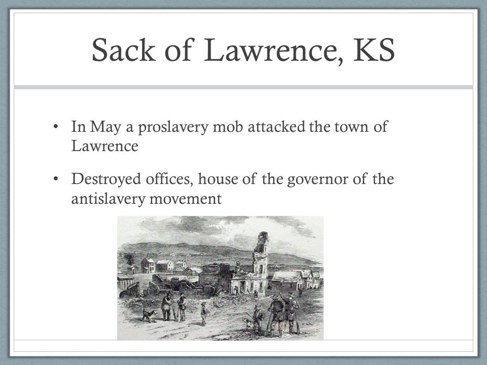 The Nation Breaking Apart - ppt video online download Sack Of Lawrence