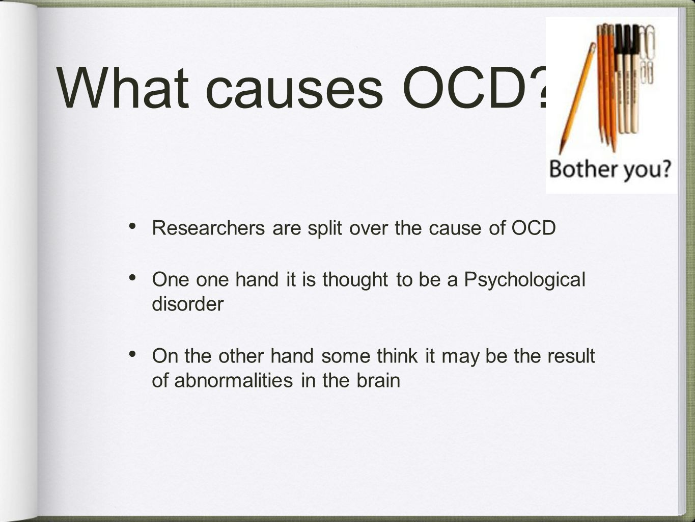sce1 psychological explanation of the causes