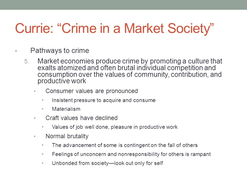 culture and crime in society In sociology, deviance describes an action or behavior that violates social norms,  including a  social norms differ from culture to culture for example, a deviant  act can be committed in one society but may be normal for another society  in  his differential association theory, edwin sutherland posited that criminals learn.
