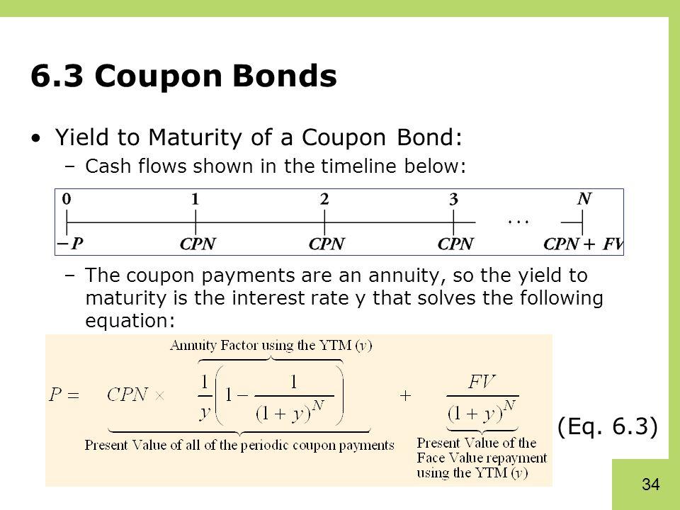 High yield coupon bonds