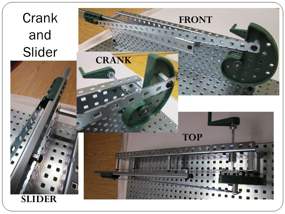 Crank And Slider Uses : Multi angle photos to help you build ppt video online