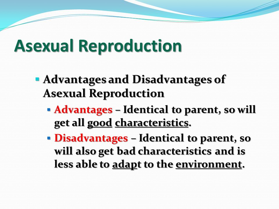 What Are The Disadvantages Of Sexual Reproduction