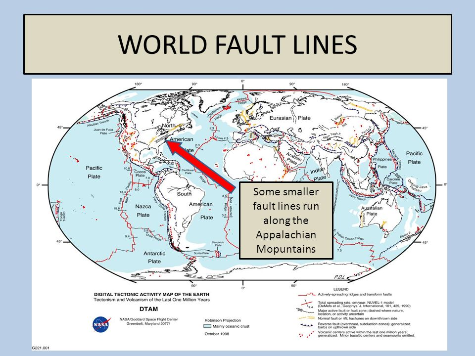 The Virginia Quake A Magnitude Earthquake Shook Parts Of The - World fault lines