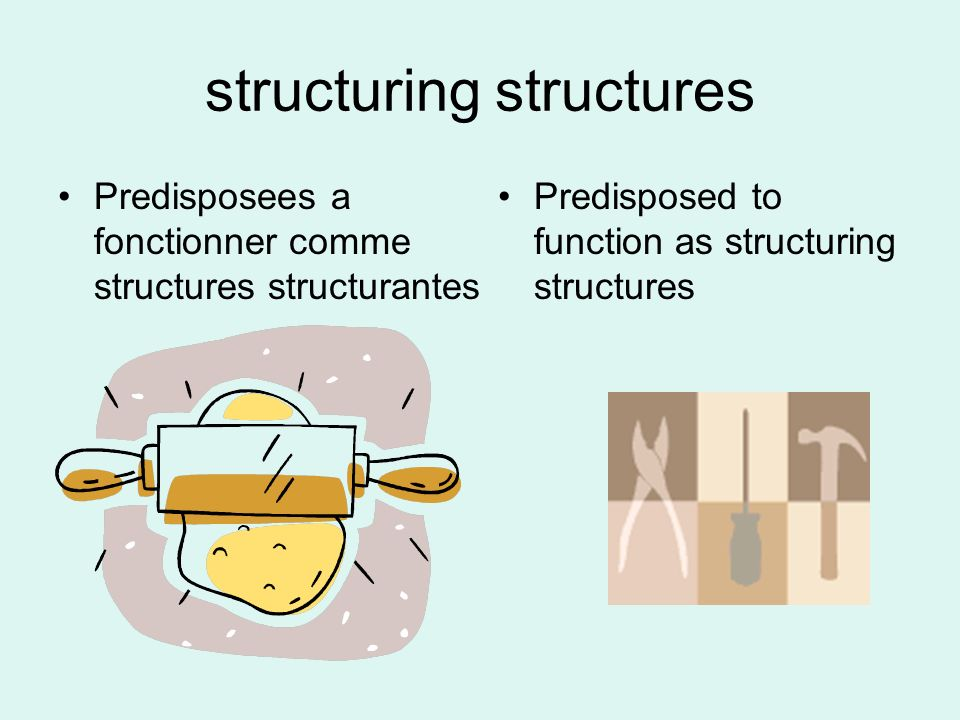 structuring structures
