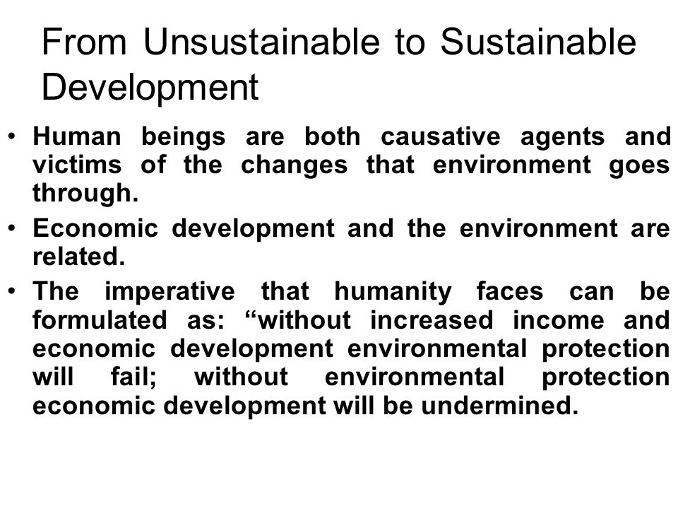 environment human beings From 1970 onwards, the world has been in an ecological overshoot people's demand on environmental resources is exceeding the earth's supply capacity while greatly improving quality of life, the industrial revolution that began in the 18th century marked the end of sustainable living as people got used to more comforts,.