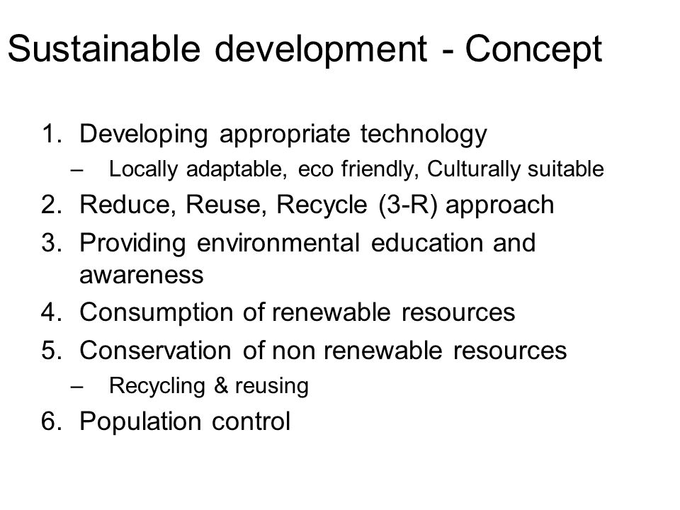 essay on environmental issues and the concept of development