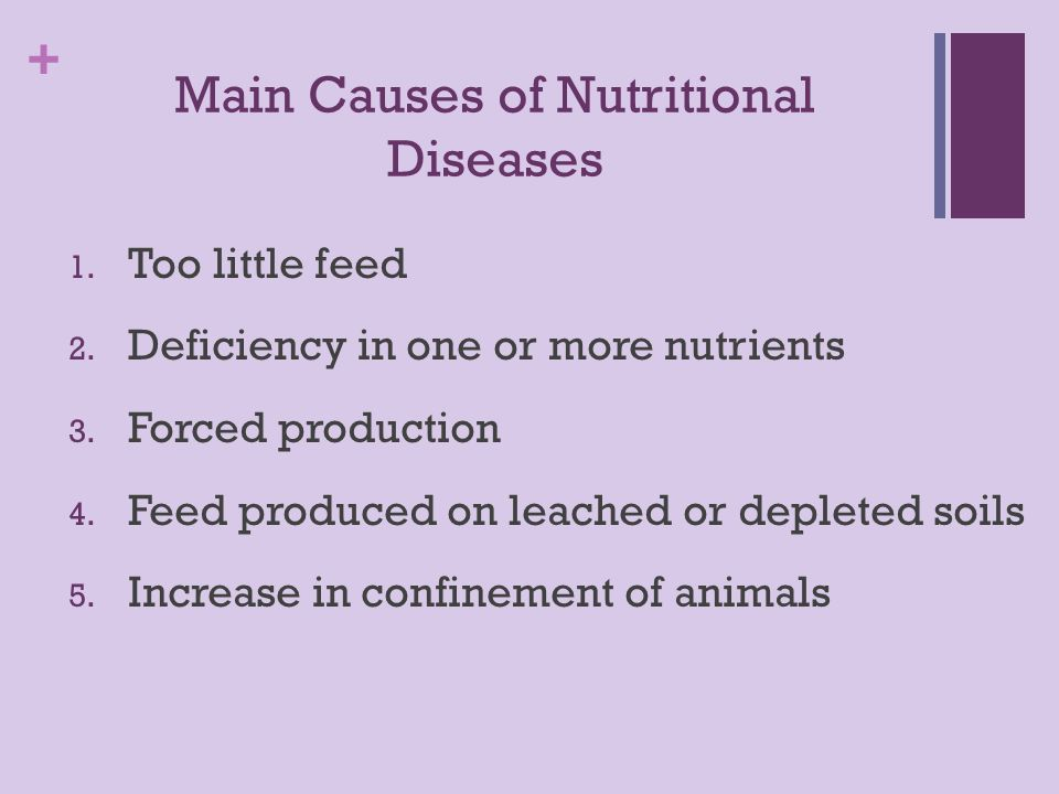 Nutritional Diseases in Livestock - ppt download