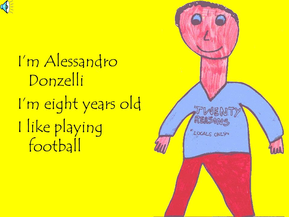 I'm Alessandro Donzelli
