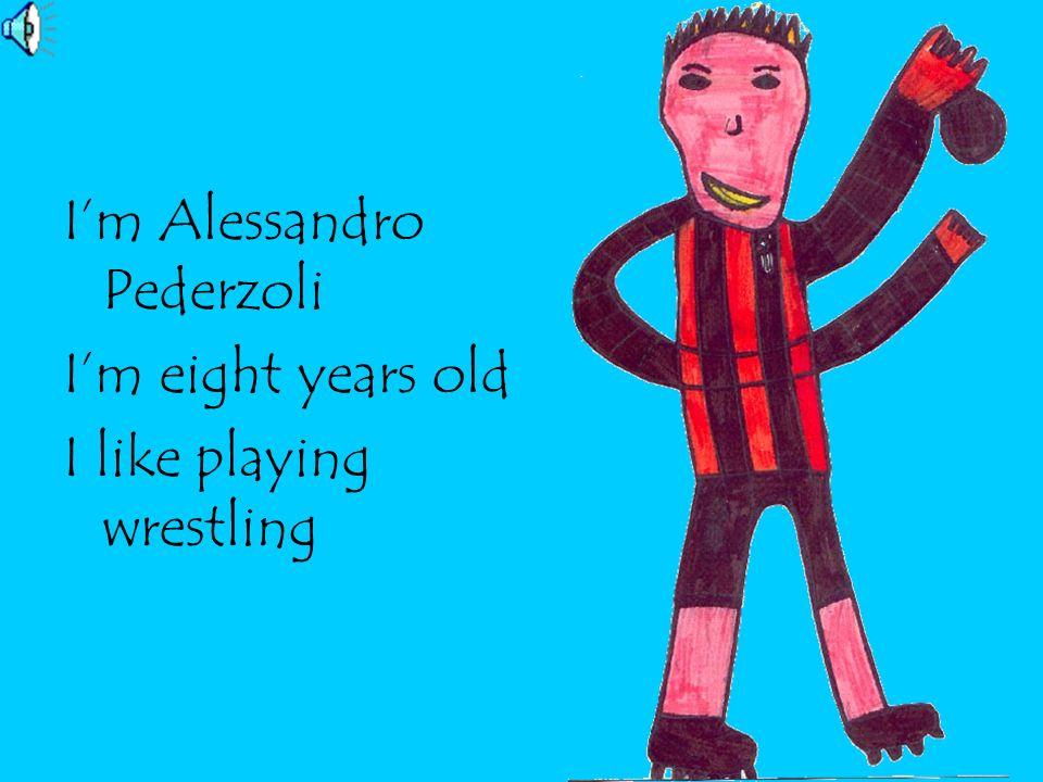 I'm Alessandro Pederzoli