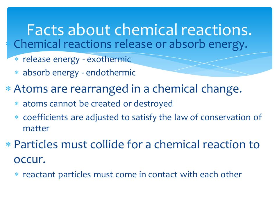 how to know if a chemical reaction will occur