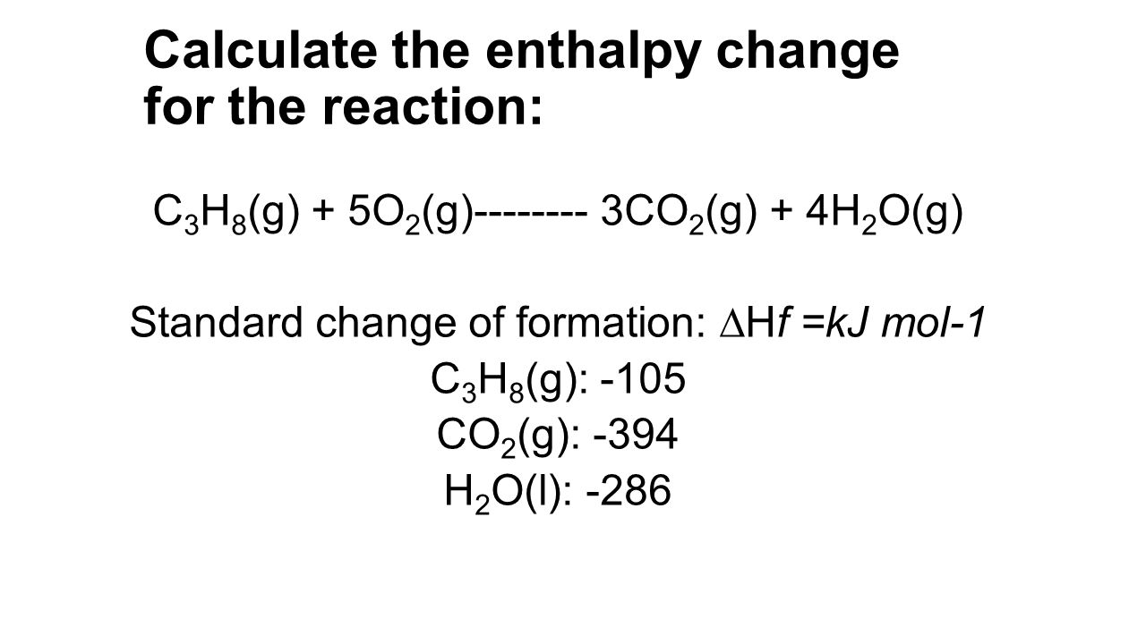 ocr chemistry coursework enthalpy change The new draft a-level chemistry specifications have recently been published complete over the duration of the course ocr has an enthalpy change.
