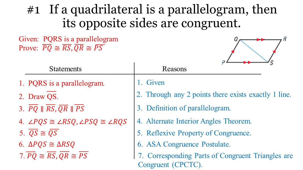 worksheet Define Reflexive Property using special quadrilaterals ppt download 2 1