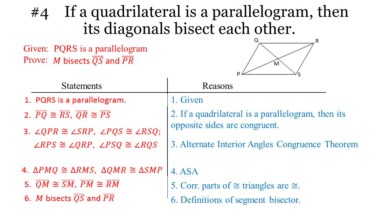 Using Special Quadrilaterals Ppt Video Online Download