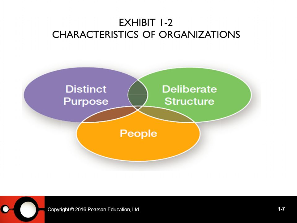 common characteristics of organizations Common characteristics of an organization paper com 350 may, 2011 common characteristics of an organization presented in this paper is the current understanding of the common characteristics and culture associated with the majority of organizations, an entertainment organization as the example.