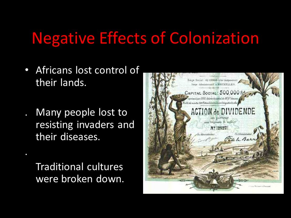 positive and negative effects of british rule British colonialism in nigeria how do the  what are the positive and negative effects of  nick deoliveira the british indirect rule system.