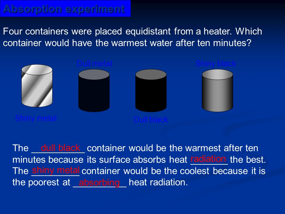 How to Calculate Heat Absorption