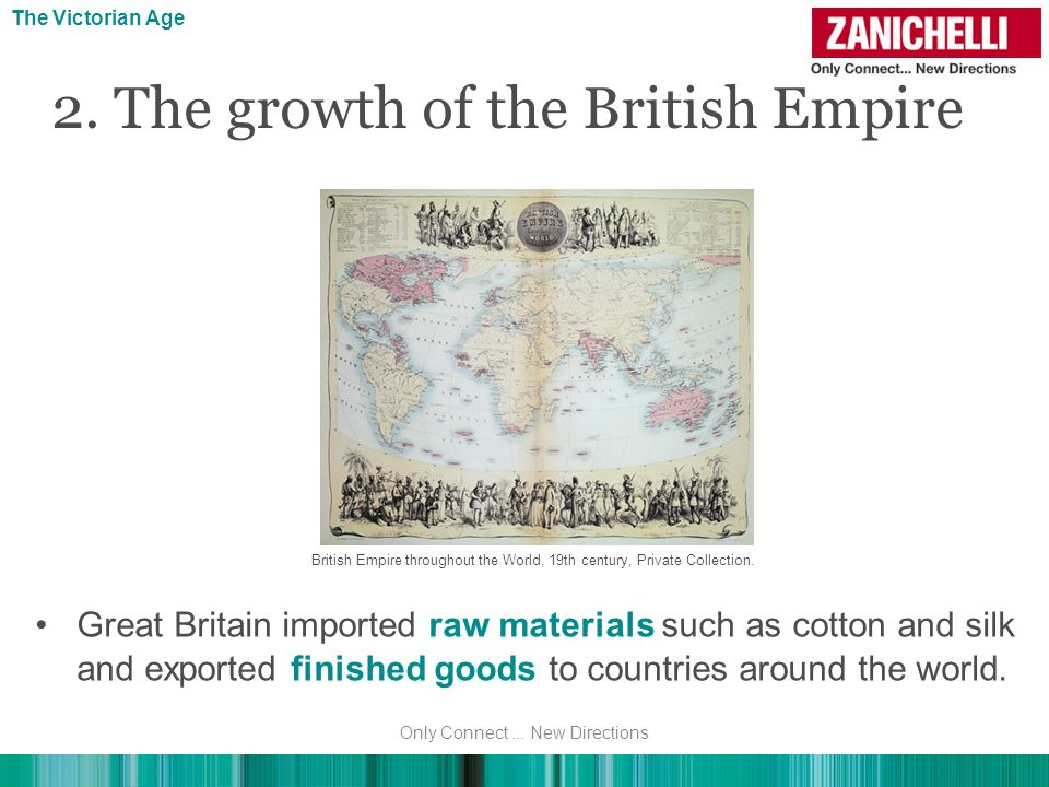 2. The growth of the British Empire