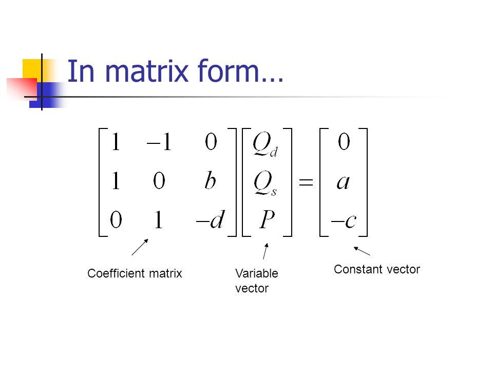 how to add a constant to a matrix