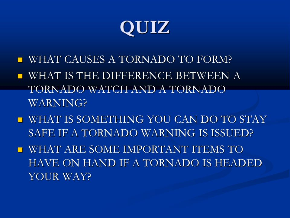 Causes and Effects Experience a Virtual Tornado - ppt video online ...