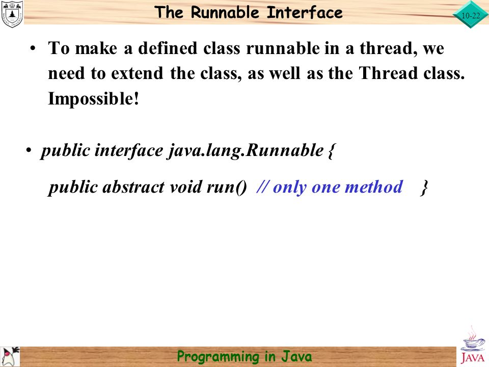 Write a program to create a thread by extending the thread class in java